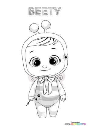 Beety - Cry Babies coloring page