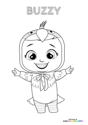 Buzzy - Cry Babies coloring page