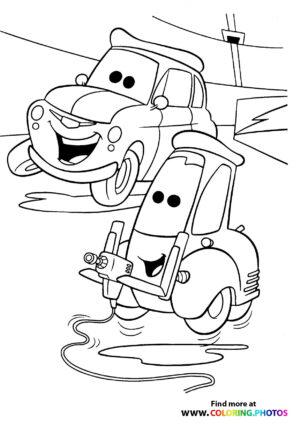 Guido and Luigi having fun
