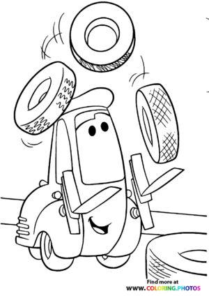 Guido balancing tires
