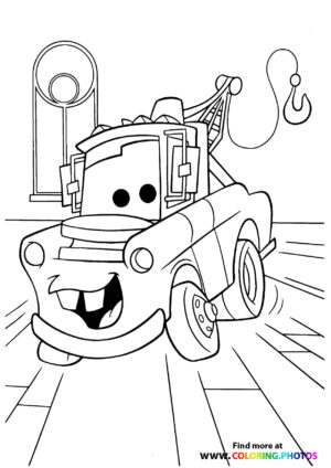 Mater going to work