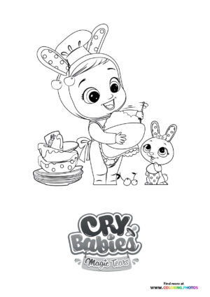 Coney cooking - Cry Babies coloring page
