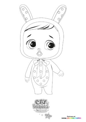 Coney - Cry Babies - Gold Edition coloring page