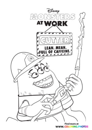 """""""Cutter - Monsters at work"""",""""Cutter - Monsters at work. Coloring page to print or download and color for your kids."""",""""Cartoons > Monsters ar work"""",""""Cutter, Monster, Disney, Cartoon"""",https://coloring.photos/wp-content/uploads/Cutter1-monsters-at-work-coloring-page.jpg,""""Cutter - Monsters at work coloring page"""",""""https://coloring.photos/wp-content/uploads/Cutter1-monsters-at-work-coloring-page.jpg"""""""
