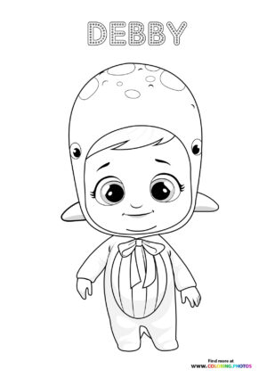Debby - Cry Babies coloring page