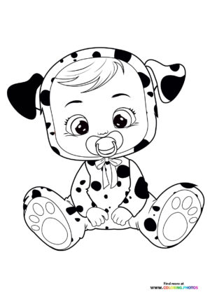Dotty - Cry Babies coloring page