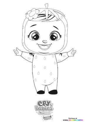 Ella - Cry Babies - Tutti Frutti coloring page