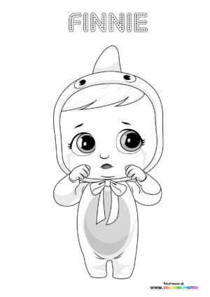 Finnie - Cry Babies coloring page