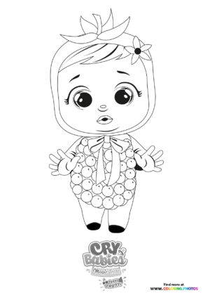 Framy - Cry Babies - Tutti Frutti coloring page