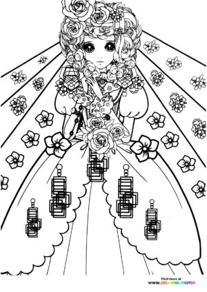 Girl-14 coloring page for Adults