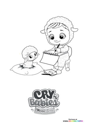 Lammy learning - Cry Babies coloring page