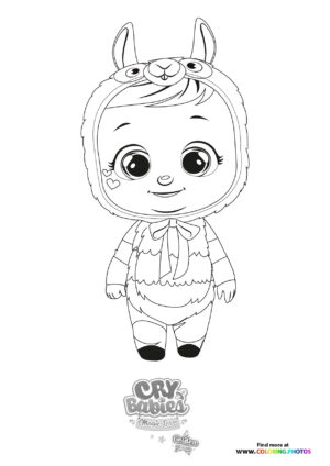 Lena - Cry Babies - Gold Edition coloring page