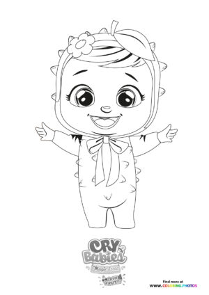 Lexi - Cry Babies - Tutti Frutti coloring page