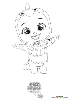 Tuka - Cry Babies - Gold Edition coloring page