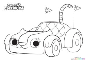 Carlita - Gaby's Dollhouse coloring page