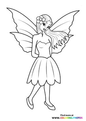 Fairy in a skirt