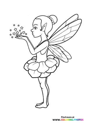 Fairy with magic dust