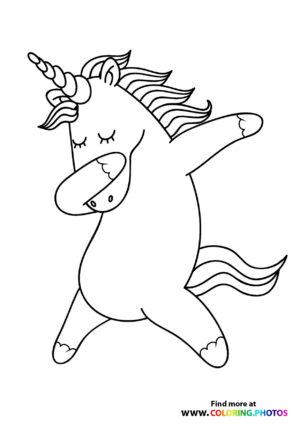 Unicorn dabing